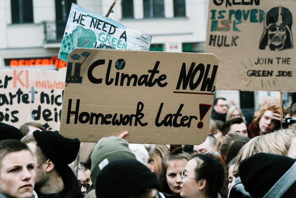 Klimaat protest