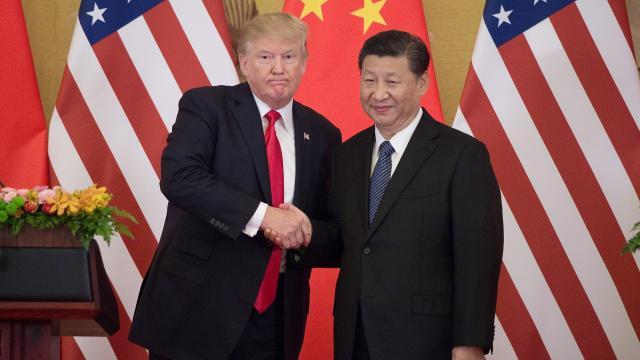 tump en Xi Jinping