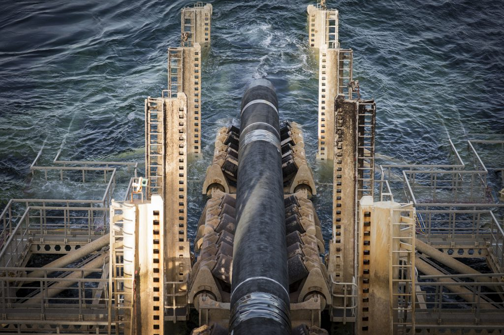 Nord Stream 2 - Pipelaying