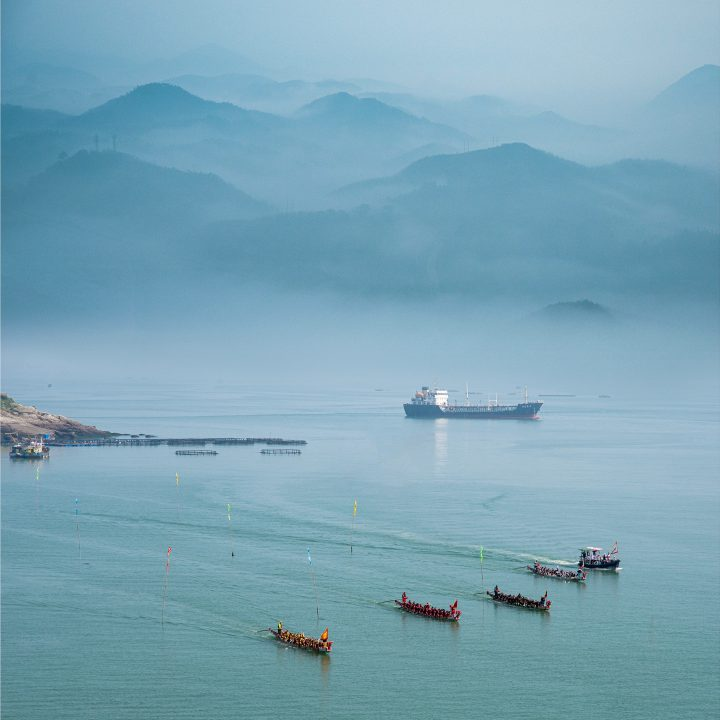 LNG schip naar Azië